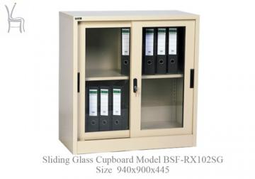 Sliding Glass Cupboard Model BSF-RX102SG