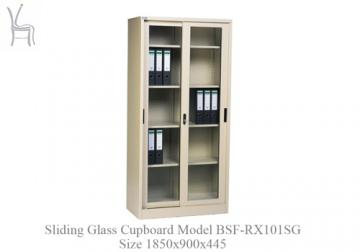 Sliding Glass Cupboard Model BSF-RX101SG