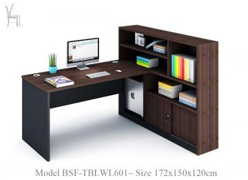 Office Table with Book Shelve