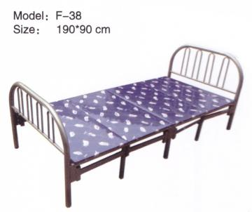Folding Bed (Blue Cussion)